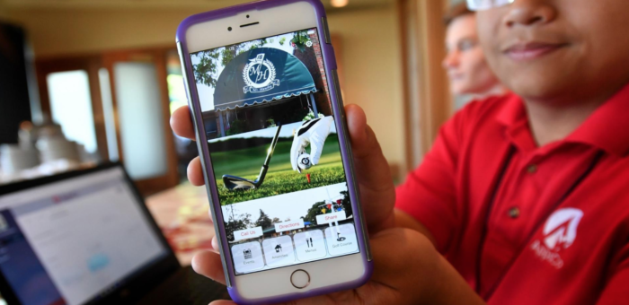 PJ Star – Student-based AppsCo unveils work for Mount Hawley Country Club