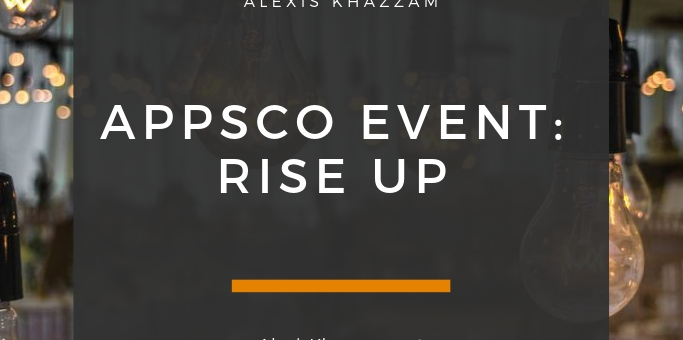 AppsCo Rise Up Event!